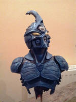 Painted Guyver Bust 2 by Mutronics