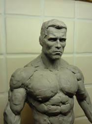 Arnold Schwarzenegger Terminator 1:4 Scale Bust 5 by Mutronics