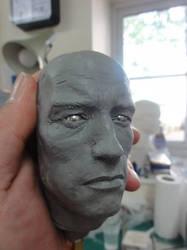 Conan Statue 1/4 Scale work in progress by Mutronics