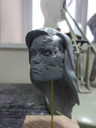 Summer Glau Terminator 1/6 Scale Head by Mutronics