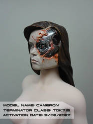 Summer Glau Terminator Head 1/6 scale by Mutronics