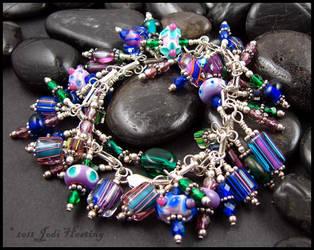 Faery Garden Charm Bracelet by andromeda