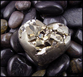Iron Pyrite Heart by andromeda