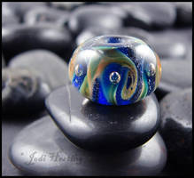 Glass Lampwork Bead by andromeda