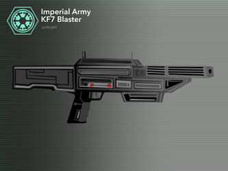 KF7 Blaster by Imperial-Ascendance