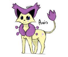 Pokemon OC : Anais by MikaMilaCat