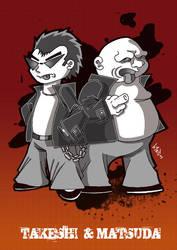Takeshi and Matsuda by b4rTuK1nG