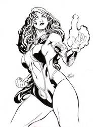 Starfire quick sketches 0_o by undergrace777