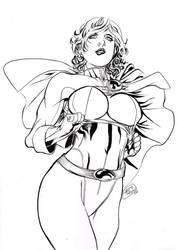 Power Girl by undergrace777