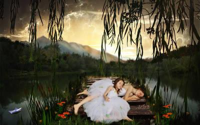 Sleeping Angels by coyotepam