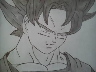 Goku by CallumOfTheSand