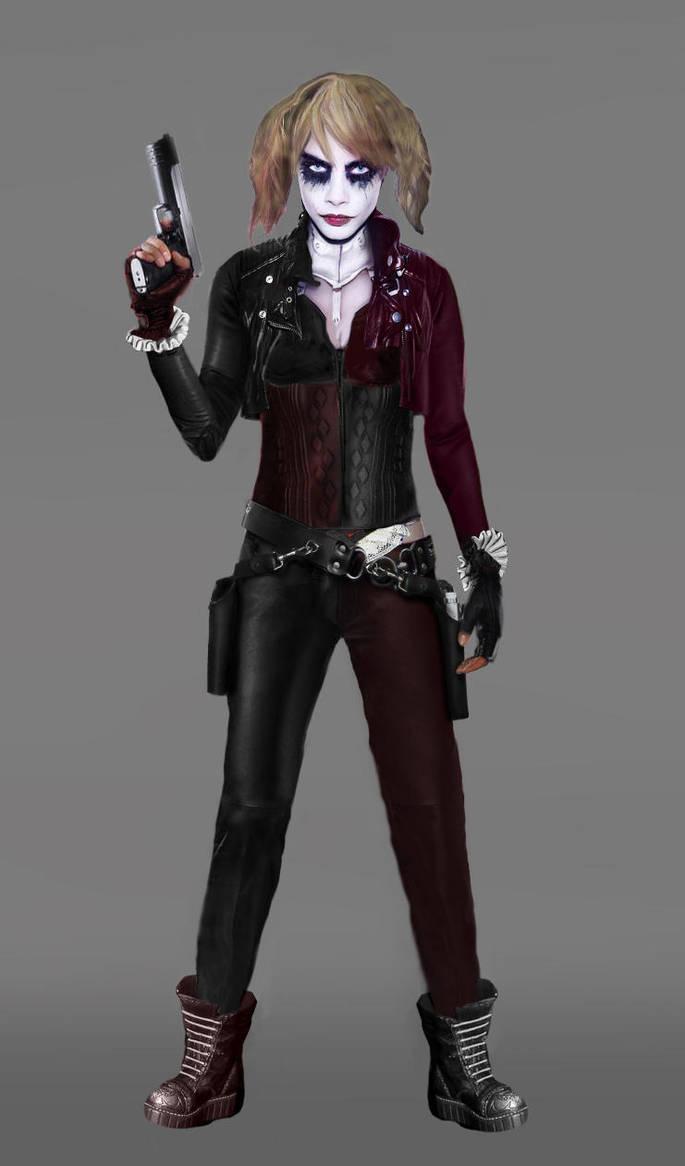 Harley Quinn Biker Chic by jaysanturri