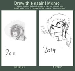 Draw this again meme by Artie-Krap