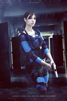 Jill Resident Evil Revelations Queen Zenobia by JillStyler