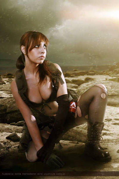 Quiet  MGSV by JillStyler