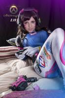 let's play . D.va cosplay by JillStyler