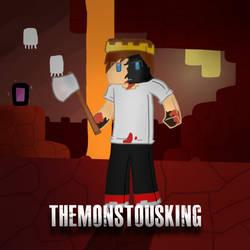 TheMonstousKing by CrimnsonRed