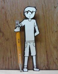 Paper Child by CrimnsonRed