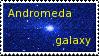 Andromeda galaxy by JaBoJa