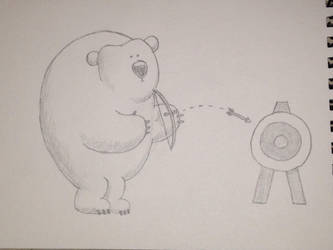 Archery Bear by bodrington