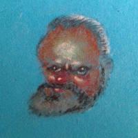 Orson Welles  by bodrington