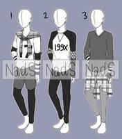 [CLOSED] Casual Boy Fashion Adopt by NadiaSyahda