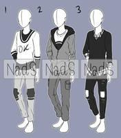 [CLOSED] Casual Boy Fashion Adopt 3 by NadiaSyahda