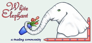 White Elephant Logo by asynjur
