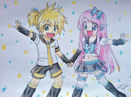 Len and Setsuko 2 by Killjoy-Chidori