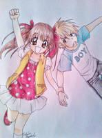 Sana and Akito by Killjoy-Chidori