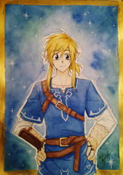 The Legend of Zelda - Breath of the Wild Link by Killjoy-Chidori
