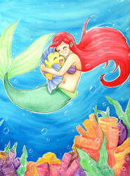 The Little Mermaid by Killjoy-Chidori