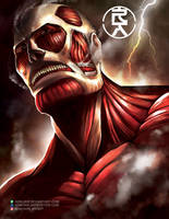 The Colossal Titan by aerlixir