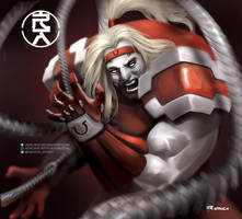 Omega Red by aerlixir