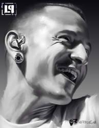Chester Bennington by aerlixir