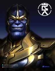 Thanos by aerlixir