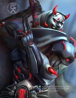 Genji (Oni skin) by aerlixir