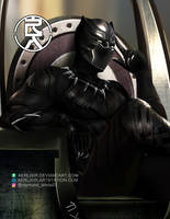King of Wakanda by aerlixir
