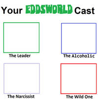Your Own Eddsworld Cast Meme (The Main 4) by Blaze-On-Fire