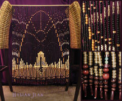 D'ni Bead Curtain by HylianJean