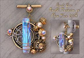 Great Zero Technician pin by HylianJean