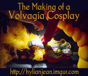 Making a Volvagia Cosplay from The Legend of Zelda by HylianJean