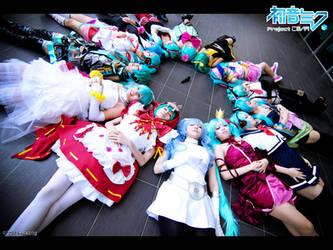 Project Diva - Hatsune Miku by Bakasteam