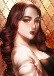 [COMMISSION] FANCY LADY by TIKUMAN