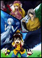 Flower gathering +Anima by Yukiria