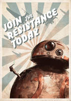 Join the Resistance Today -BB8- by Yukiria