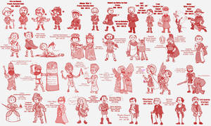 Famous Factual Figures (Mostly) by Daniel-Gleebits