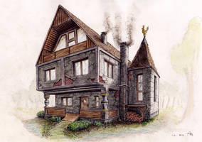 Haus im Wald by StampferAlex