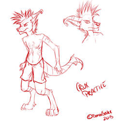Crux Practice by DemonSnake