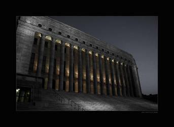 Parliament House in Helsinki by Tigru